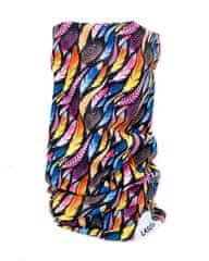 Lasoul Multifunkční šátek/ nákrčník Feathers
