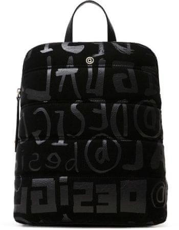 Desigual Damski czarny plecak Back Nanaimo 20WAKA24