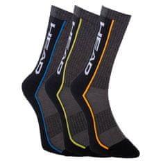 Head 3PACK ponožky vícebarevné (791011001 002)