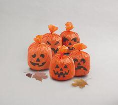 Dekorácia tekvice - pumpkin - HALLOWEEN - 20 ks