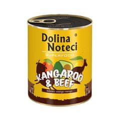 DOLINA NOTECI SUPERFOOD 800g kenguru és marhahús kutyáknak 80% hús