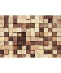 KOMAR Products papírová fototapeta 8-978 Lumbercheck, rozměry 368 x 254 cm