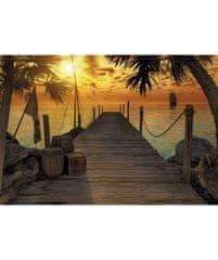 KOMAR Products papírová fototapeta 8-918 Treasure Island, rozměry 368 x 254 cm