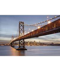 KOMAR Products papírová fototapeta 8-733 Bay Bridge, rozměry 368 x 254 cm