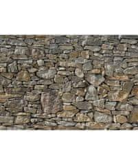 KOMAR Products papírová fototapeta 8-727 Stone Wall, rozměry 368 x 254 cm