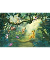 KOMAR Products papírová fototapeta 8-475 Lion King Jungle, rozměry 368 x 254 cm