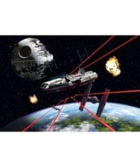 KOMAR Products papírová fototapeta 8-489 Star Wars Millennium Falcon, rozměry 368 x 254 cm