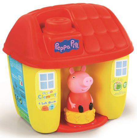 Clementoni Clemmy baby Peppa Pig građevinski komplet
