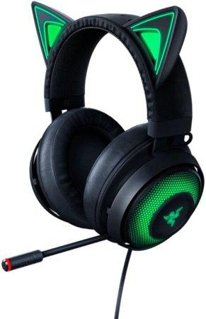Razer Kraken Kitty gaming slušalice, crne