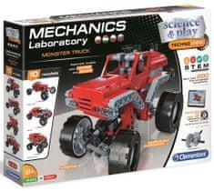 Clementoni Mechanikus laboratórium Monster truck 200 darabos
