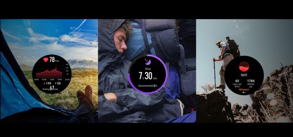 Inteligentné hodinky Watch GS Pro KANON-B19S GPS sledovanie srdcového rytmu spánku sledovanie počasia
