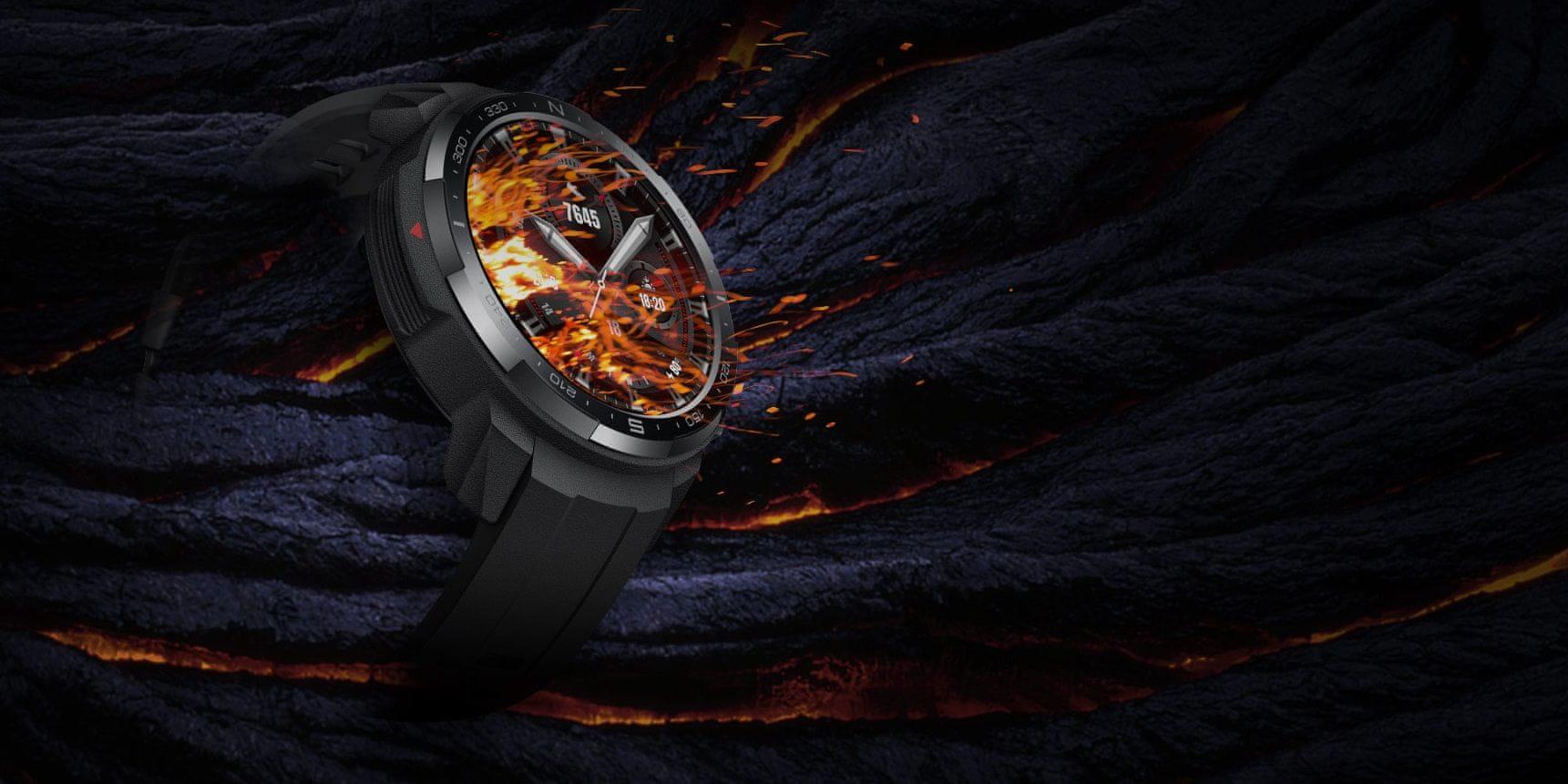 Inteligentné hodinky Watch GS Pro KANON-B19S Charcoal Black odolná konštrukcia