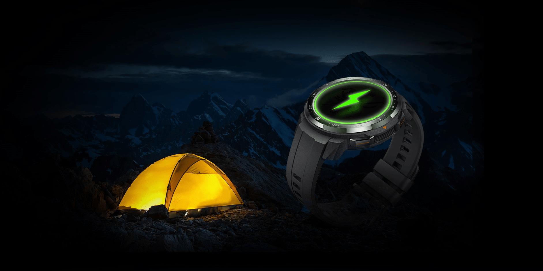 Inteligentné hodinky Watch GS Pro KANON-B19S Charcoal Black dlhá výdrž batérie