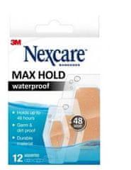 Nexcare obliži MAX HOLD 48 ur, 12 kosov