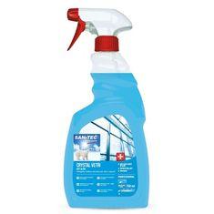 Sanitec Crystal Vetri sredstvo za čišćenje stakla s raspršivačem, 750 ml