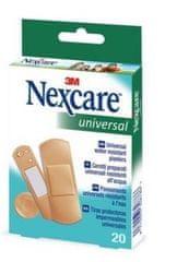 Nexcare Universal obliži različni, vodoodporni, 20 kosov
