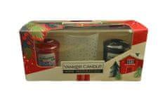 Yankee Candle Dárková sada 2 ks votivní svíčka 49 g + svícen