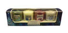Yankee Candle Ajándékkészlet 4 db viasz illatgyertya 49 g