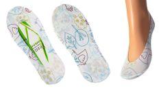 """Pesail Női bambusz zokni """"boka"""" Állat - fehér"""