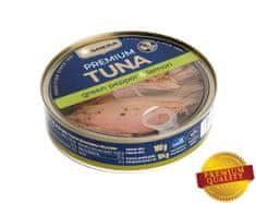 SOKRA Tuniak v oleji so zeleným korením a citrónom 160 g