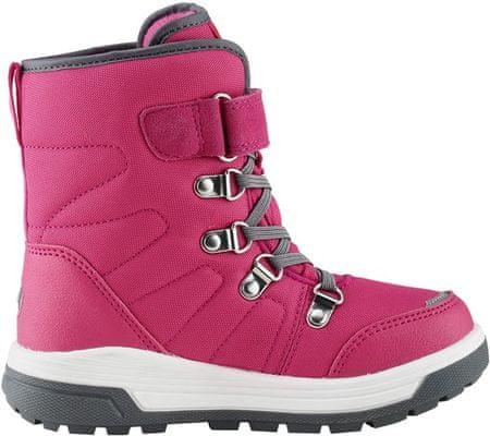 Reima 569436-4650 Quicker dekliški zimski škornji, roza, 36