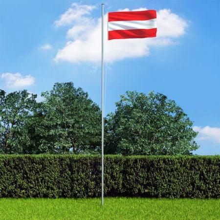 shumee Avstrijska zastava 90x150 cm