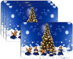 RoomDecor.eu Vianočné prestieranie-130, 4 Ks
