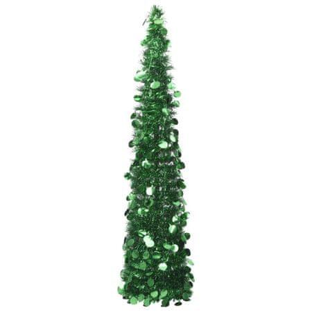 shumee zöld összecsukható PET műkarácsonyfa 150 cm
