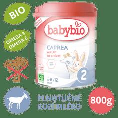 Babybio CAPREA 2 plnotučné kozí kojenecké mléko 800 g