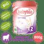 3 - Babybio OPTIMA 2 kojenecké bio mléko 800 g + Dárek nemléčná obilná bio kaše 200 g