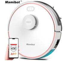 Mamibot Exvac880 robotski usisavač, hibrid, LDS4.0, laser tehnologija, bijela
