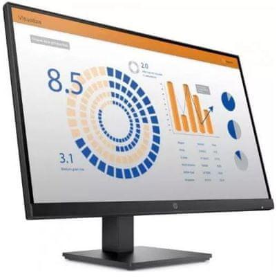 monitor HP P27q G4 (8MB11AA) QHD gaming office multi-tasking