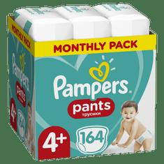 Pampers Pants Maxi + vel. 4+ (164 ks) - plienkové nohavičky (9-15 kg) - Mesačné balenie