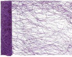 Paris Dekorace Stolová šerpa z kokos. vláken, fialková 30 cm x 5 m