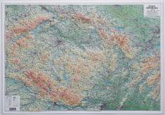 Excart Česká republika - plastická nástěnná mapa
