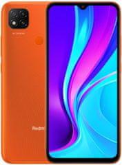 Xiaomi Redmi 9C NFC, 3GB/64GB, Sluneční oranžová