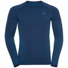 ODLO Performance Warm Eco muška majica, Estate Blue - Atomic Blue (B:20776)