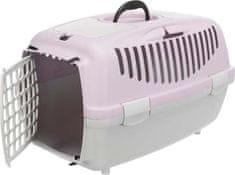 Trixie transporter dla zwierząt Capri 2 XS-S 37 x 34 x 55 cm, jasnoszary/jasna lilia