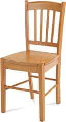 ART Jídelní židle celodřevěná, olše AUC-005 OL Art