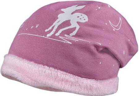 Maximo czapka dziewczęca 49, różowy