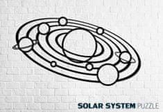 EWA ECO-WOOD-ART Nástěnné puzzle Solární systém