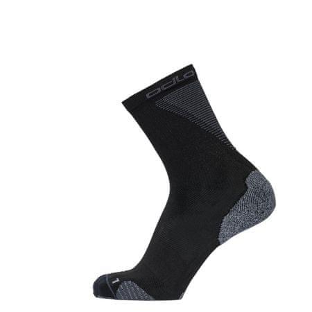 ODLO Ceramicool čarape za trčanje, crne, 45-47