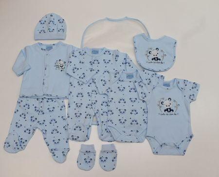Just Too Cute poklon paket za dojenčad 8set za dječake, panda, 74, plavi