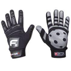 Freez Brankářské florbalové rukavice FREEZ GLOVES G-180 black JR - L