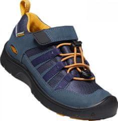 KEEN Hikeport 2 Low WP Y dječje kožne cipele, blue nights/sunflower
