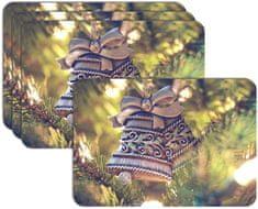 RoomDecor.eu Vianočné prestieranie-137, 4 Ks