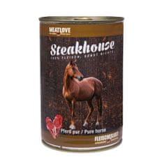 Meat Love Konzervy steakhouse 100% konské mäso 400g