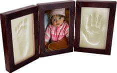 Svět-pokojů Otisky s fotkou v rámečku - 3 dílný wenge - pant