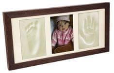 Svět-pokojů Otisky s fotkou v rámečku wenge - 3 dílný