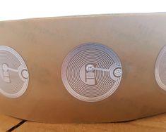 Mave 50 kos prozornih plastičnih NFC nalepk s čipom NTAG213